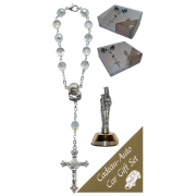 St.Anne De Beaupre Car Statue SCBMC25 with Decade Rosary RD850A-15