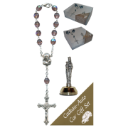 St.Anne De Beaupre Car Statue SCBMC25 with Decade Rosary RD850A-16