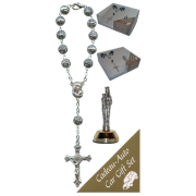 St.Anne De Beaupre Car Statue SCBMC25 with Decade Rosary RD1480S