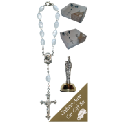 St.Anne De Beaupre Car Statue SCBMC25 with Decade Rosary RDI28