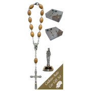 St.Anne De Beaupre Car Statue SCBMC25 with Decade Rosary RDO28