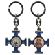 """Padre Pio / Mother and Child Keychain cm.4.5 - 1 3/4"""""""