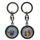 St.Christopher and Holy Family Keychain