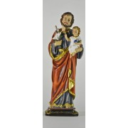 St.Joseph Colour Statue 11 1/4""