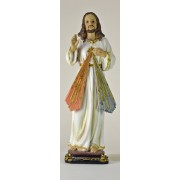 Divine Mercy Colour Statue