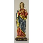 Immaculate Heart of Mary Colour Statue