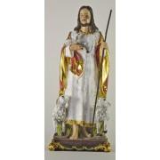 The Good Shepherd Colour Statue