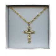 Crucifix Pendent Gold Plated