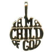 """I am a child of God"" Pendent"