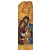 "Icon Holy Family PVC Bookmark cm.5x15 - 2""x6"""