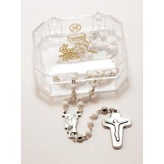 Moonstone Rosary Boxed