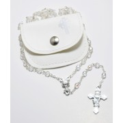 Crystal Rosary with Pouch