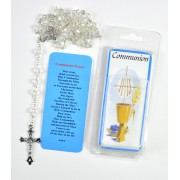 Plastic Rosary Gift Set for Boy