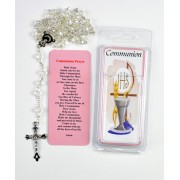 Plastic Rosary Gift Set for Girl