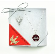 Confirmation Gift Set with Pendant and Lapel Pin
