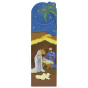 "Animated Nativity PVC Bookmark cm.5x15 - 2""x6"""