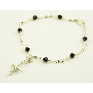 http://monticellis.com/4354-5091-thickbox/silver-plated-bracelet-with-black-swarovski-crystals.jpg