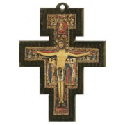 Saint Damian Cross cm.8 - 3 1/4""