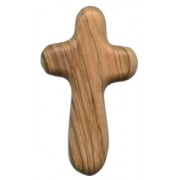 Olive Wood Hope Cross cm.9 - 3 1/2""