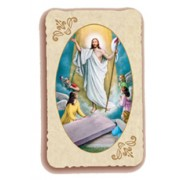"Resurrection Holy Card Antica Series cm.6.5x10 - 2 1/2""x4"""
