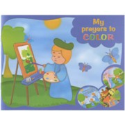 "My Prayers Colouring Book English Text cm.20x15.5 - 8""x6"""
