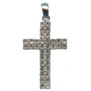 "Swarovski Crystal Cross cm.4.3 - 1 3/4"""